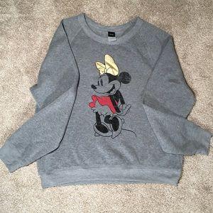 Disney Minnie Mouse Sweatshirt SzXL